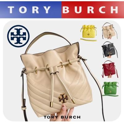 トリーバーチ TORYBURCH バッグ レディース KIRA CHEVRON MINI BUCKET BAG ショルダーバッグ ミニバケットバッグ 64439