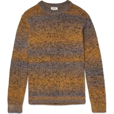 アクネ ストゥディオズ ACNE STUDIOS メンズ ニット・セーター トップス Sweater Ocher
