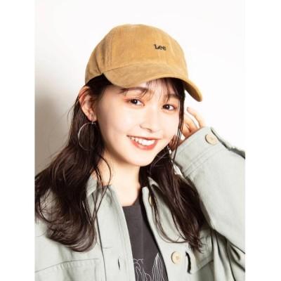 【シューラルー】 コーデュロイキャップ レディース ベージュ 00 SHOO・LA・RUE