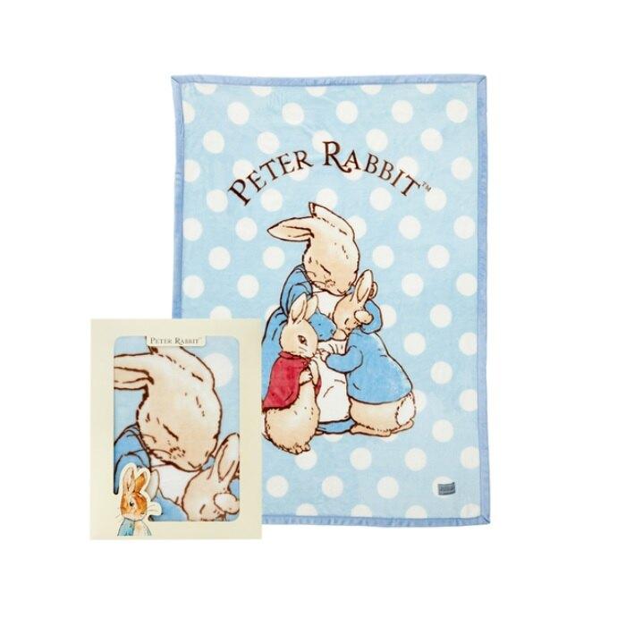 【領券滿額折50】奇哥親親比得兔幼兒毛毯禮盒(PLB71100C米) 1410元+附紙袋