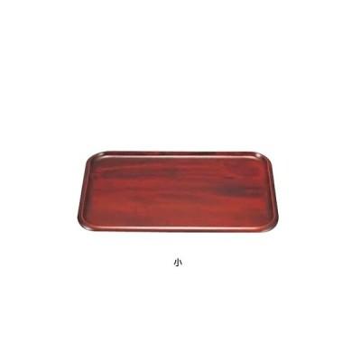 木製 長角盆(ウレタン塗装) SB-503 小 330×240×H20mm