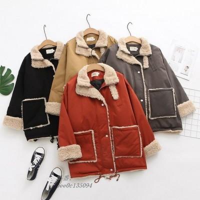 ジャケット キルティングジャケット コート 中綿コート ボアコート フリースコート レディース 40代 カーディガン アウター 無地羽織 ゆったり 体型カバー 長袖