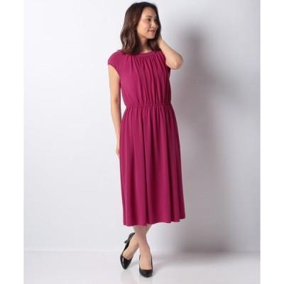 【ミス ジェイ】【洗える】ペオススムース ドレス
