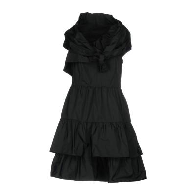 ピンコ PINKO ミニワンピース&ドレス ブラック 44 100% ポリエステル ミニワンピース&ドレス