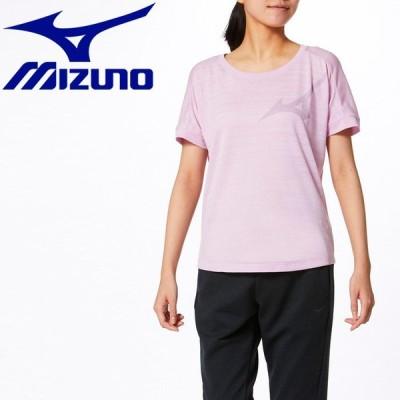 メール便送料無料 ミズノ MIZUNO トレーニングウエア ドライエアロフローTシャツ レディース 32MA032468