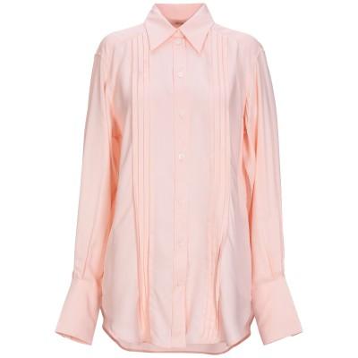 セリーヌ CELINE シャツ ピンク 40 レーヨン 100% シャツ