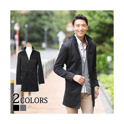 送料無料 コート メンズ アウター ヘリンボーン イタリアンカラー おしゃれ 20代 30代 40代 50代 メンズスタイル menz-style 大きいサイズ
