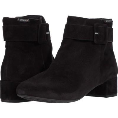 メフィスト Mephisto レディース シューズ・靴 Balina Black Velcalf Premium