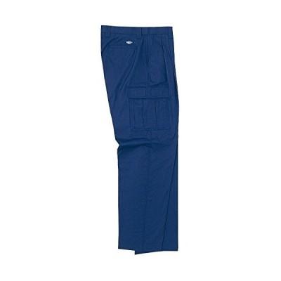 ホシ服装 PERSON'S UNIFORM P141サマーチノカーゴパンツ ネイビー ウエスト:79 (ネイビー 79)