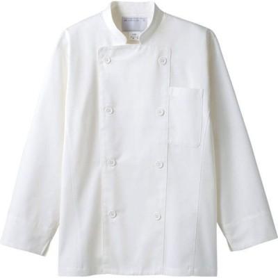 コックコート 長袖 男女兼用 調理服 厨房服 飲食 住商モンブラン MONTBLANC 6-851