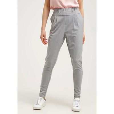 カフェ カジュアルパンツ レディース ボトムス JILLIAN PANTS - Trousers - light grey melange