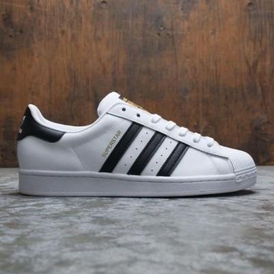 ユニセックス スニーカー シューズ Adidas Men Superstar (white / core black / footwear white)