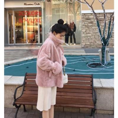 ショートコート アウター 長袖 防風 毛皮コート 上質 冬物 激安 学生 食事会 ジャケット 上着 フォーマル 通勤 OL オフィス 旅行 女性用 レディース 暖かい 防寒