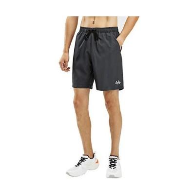 ランニング ショートパンツ メンズ ハーフパンツ ランパン ジョギング 短パン スポーツ ショートパンツ 調整可能 ウェア 5分丈 フィット