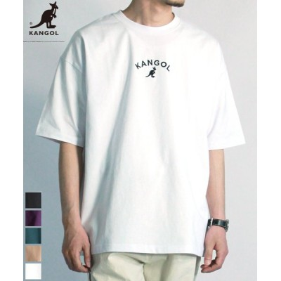 【Amerikaya】  カンゴール オーバーサイズ 刺繍 半袖 Tシャツ ユニセックス ユニセックス ホワイト XL Amerikaya