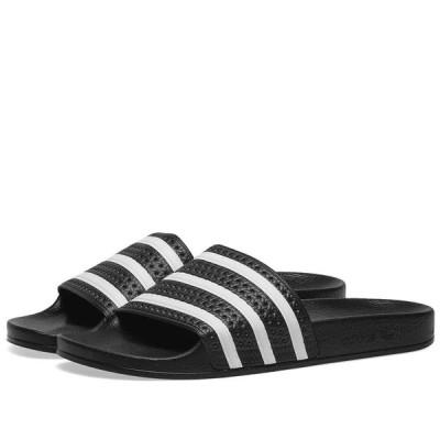アディダス Adidas メンズ サンダル シューズ・靴 Adilette Black/White