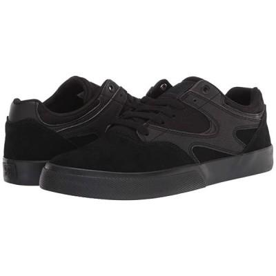 ディーシーシュー Kalis Vulc メンズ スニーカー 靴 シューズ Black/Black/Black