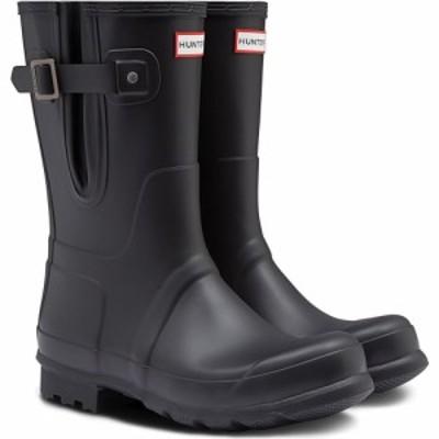ハンター HUNTER メンズ ブーツ シューズ・靴 Original Adjustable Waterproof Boot Black