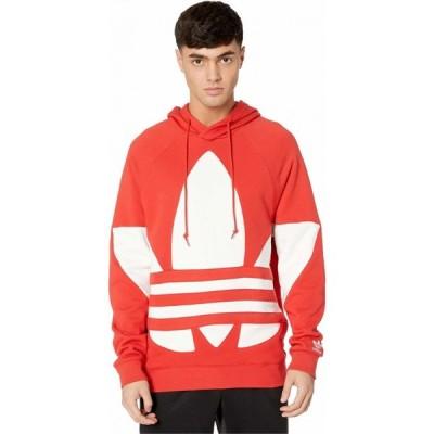 アディダス adidas Originals メンズ パーカー トップス Big Trefoil Hoodie Lush Red