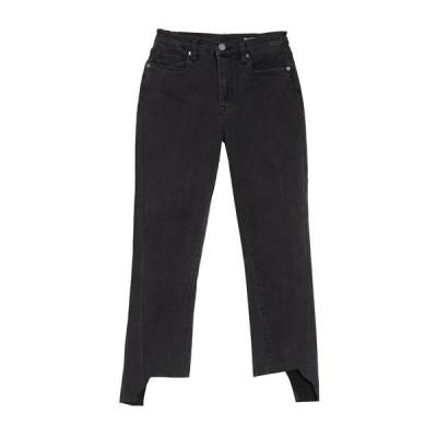 ブランクニューヨーク レディース デニムパンツ ボトムス High Rise Stagger Cropped Jeans ONYX