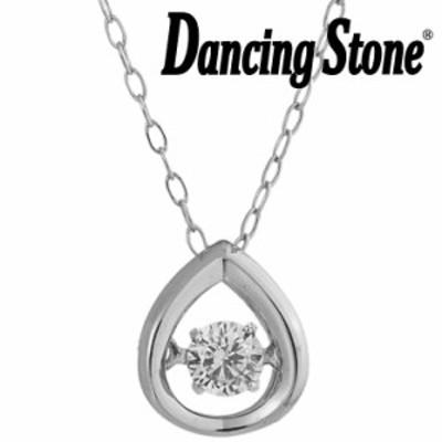 ダンシングストーン ネックレス ダイヤモンド 0.08ct K18 ホワイトゴールド GP-0424D-WG