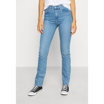 リーバイス デニムパンツ レディース ボトムス 724 HIGH RISE STRAIGHT - Straight leg jeans - rio chill