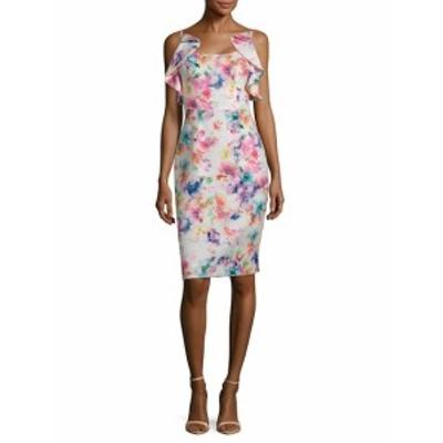 ブラックハロー レディース ワンピース Rosette Sheath Dress