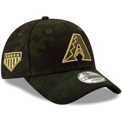 ニューエラ メンズ 帽子 アクセサリー Arizona Diamondbacks New Era 2019 MLB Armed Forces Day 49FORTY Fitted Hat Camo