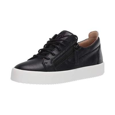 Giuseppe Zanotti Men's RM00062 Sneaker, Nero, 41 M EU (8 US)【並行輸入品】