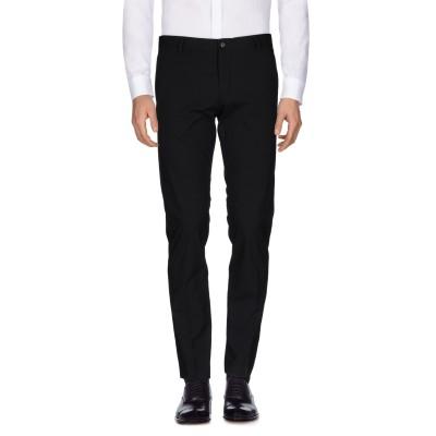 SELECTED HOMME パンツ ブラック 46 ポリエステル 65% / レーヨン 33% / ポリウレタン 2% パンツ