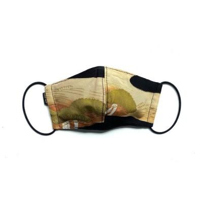 【デザイナーズ和柄マスク 吸水速乾COOLMAX使用 日本製】KIMONO MASK CTMR 0903119