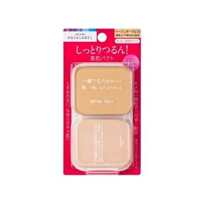 資生堂(SHISEIDO) アクアレーベル 保湿・肌あれケア モイストパウダリー ベージュオークル10 (レフィル) 黄みよりで明るめの肌色 (11.5g)