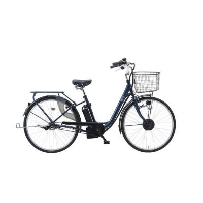 電動アシスト自転車 26インチ 電動自転車 suisui 後ろ乗せ ネイビー