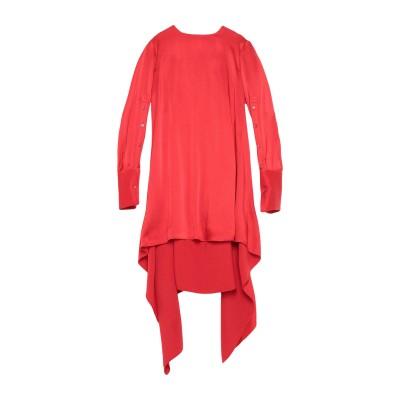 MONSE ミニワンピース&ドレス レッド 4 アセテート 73% / レーヨン 27% ミニワンピース&ドレス