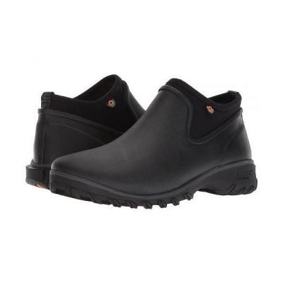 Bogs ボグス レディース 女性用 シューズ 靴 ブーツ アンクルブーツ ショート Sauvie Chelsea - Black