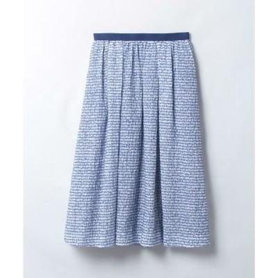 LANVIN en Bleu / ランバン オン ブルー ミディレングススカート