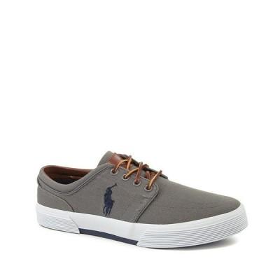 ラルフローレン メンズ スニーカー シューズ Men's Faxon Canvas Sneakers Grey
