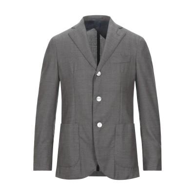 BARBA Napoli テーラードジャケット ダークグリーン 48 バージンウール 100% テーラードジャケット