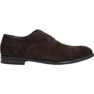 ミリオーレ MIGLIORE メンズ シューズ・靴 laced shoes Dark brown