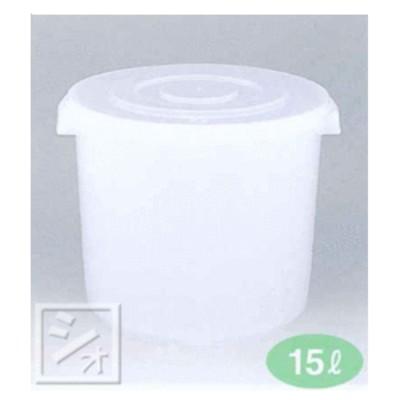 漬物容器 漬物シール深15型 (34×32.5φ×26Hcm) 日本製