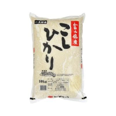 白米富山県産 こしひかり(令和元年)10kg