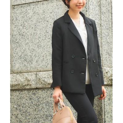 ジャケット テーラードジャケット 【RUUX】キレイ目 ダブル ジャケット