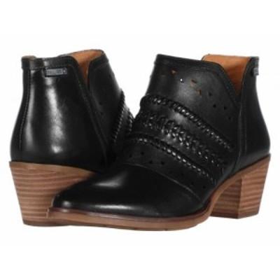 Pikolinos レディース 女性用 シューズ 靴 ブーツ アンクル ショートブーツ Huelma W2Z-8628 Black【送料無料】