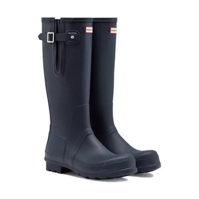 ハンター(HUNTER) メンズ オリジナル サイドアジャスタブル ブーツ ネイビー MFT9007RMA NVY 紳士 長靴 雨具 雨靴 レインシューズ レインブーツ