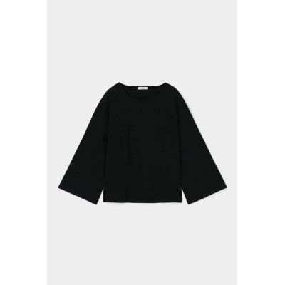 (moussy/マウジー)VIRAL OFF FLARE SLEEVE トップス/レディース BLK