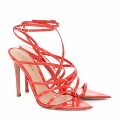 ジャンヴィト ロッシ Gianvito Rossi レディース サンダル・ミュール シューズ・靴 Patent leather sandals California