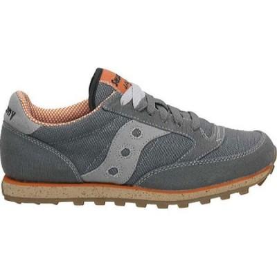 サッカニー Saucony Originals メンズ スニーカー ローカット シューズ・靴 Jazz Low Pro Vegan Sneaker Charcoal/Orange
