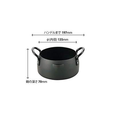 和平フレイズ 共柄天ぷら鍋 16cm 燕三 IH対応 鉄 EM-8286