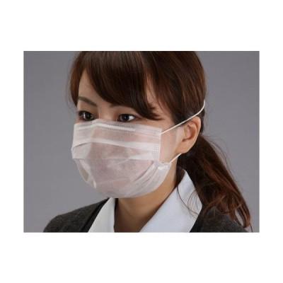 エスコ (ESCO)  マスク(二層使い捨て・オーバーヘッド/50枚) EA800MH-11A