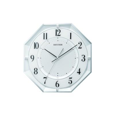 電波掛時計 フィットウェーブ クールM552 リズム(Rhythm) 8MY552SR03